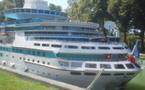 IMAGE DU JOUR - Le Majesty of the Seas en escale à Reims