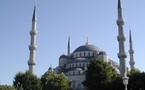 L'IMAGE DU JOUR – Mosquée bleue