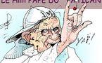 DESSIN DE PRESSE: Ben-Noït Croix-V-Bâton