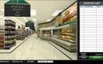 CHRONOSHOP : Le premier supermarché électronique virtuel avec effet 3D au monde