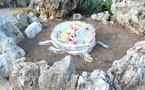 Monaco: des sculptures fleurissent dans le Jardin exotique
