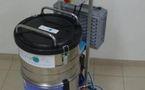 La machine à laver les outils du peintre