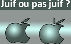 DESSIN DE PRESSE: Le ver ashkénaze était dans l'Apple
