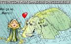 DESSIN DE PRESSE: Tragédie et frisson pendant la mousson