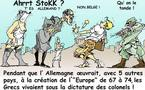 DESSIN DE PRESSE: Germanophobie, de mal en Pirée
