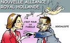 DESSIN DE PRESSE: Royal-Hollande, la nouvelle histoire d'amour