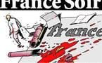 DESSIN DE PRESSE: Fin de l'encre et du papier pour France-Soir