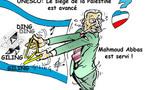 DESSIN DE PRESSE: La France invite la Palestine à s'asseoir à sa table