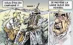DESSIN DE PRESSE: Aux armes Chevènement !