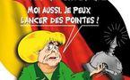 DESSIN DE PRESSE: Merkel et Bismarck... bis