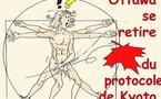 DESSIN DE PRESSE: Ça sent le gaz entre Ottawa et Kyoto