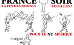 DESSIN DE PRESSE: France-Soir s'éclipse