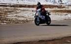 L'IMAGE DU JOUR – Moto et neige