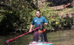 Yohan et Thétis traverseront la France en Paddle