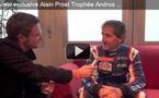 Interview vidéo d'Alain Prost au Trophée Andros 2012