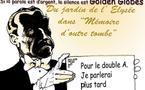 DESSIN DE PRESSE: Silence dans le jardin de l'Elysée
