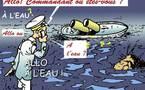 DESSIN DE PRESSE: Y avait-il de la friture sur le Concordia?