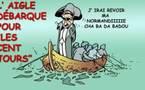 DESSIN DE PRESSE: Arrête de ramer Hervé, tu attaques la falaise