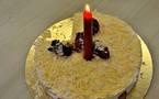 L'IMAGE DU JOUR – Bougie sur le gâteau