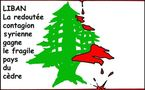DESSIN DE PRESSE: Beyrouth éclaboussé