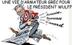 DESSIN DE PRESSE: Le président Wulff démissionne