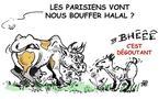 DESSIN DE PRESSE: Les parisiens sont-ils au régime halal?
