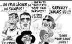 DESSIN DE PRESSE: Défection du show-biz pour Sarkozy