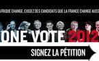 ONE Vote 2012 pour l'Afrique