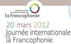 Journée Internationale de la Francophonie 20 mars 2012