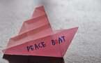 L'IMAGE DU JOUR – Le bateau de la paix