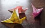 L'IMAGE DU JOUR – Origami