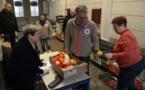 Rencontre avec des bénévoles d'une unité locale de la Croix Rouge