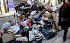 Paris sous les déchets