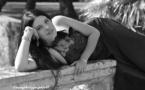 Aurélie Verbrègue prend la pose © Evans Photographie