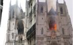 """Cathédrale de Nantes : une enquête est ouverte pour """"incendie volontaire"""""""
