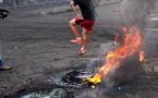 L'IMAGE DU JOUR – Pneus brûlés