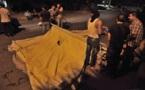 L'IMAGE DU JOUR – Installer une tente
