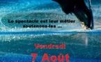 Auxerre-Monéteau : Rouge, le spectacle de la patinoire Cyberglace