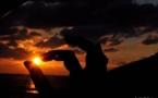 L'IMAGE DU JOUR – Toucher le soleil