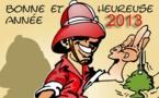 DESSIN DE PRESSE: Bonne année 2013