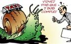 DESSIN DE PRESSE: Grogne des taxis dans l'Aisne