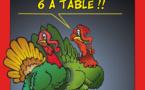 6 adultes à table : L'importance de garder l'esprit de Noël