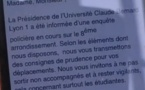 Actu à la une - La psychose estudiantine à Lyon: avant tout une alerte à la prudence