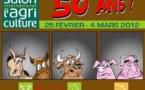 DESSIN DE PRESSE: Chevaux, vaches et cochons au Salon de l'Agriculture