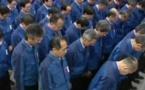 Le Japon se fige en souvenir de Fukushima