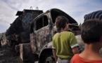 L'IMAGE DU JOUR – Camion brûlé