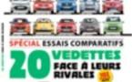 Essais comparatifs sur plus de 100 modèles de voitures