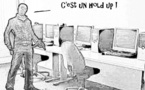 DESSIN DE PRESSE: Un énorme cyber-braquage au butin de 45 millions $