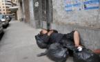 L'IMAGE DU JOUR – Lit dans la rue