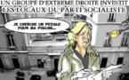 DESSIN DE PRESSE: Les fachos s'invitent à Solférino